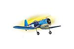 Радиуоправляемый самолет F4U Corsair .91-120 (TPM04)