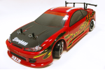 Автомодель дрифт Fireball DC полный комплект с подсветкой красная (AP01R)