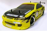 Автомодель дрифт Fireball DC полный комплект с подсветкой желтая (AP01Y)