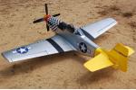 Радиоуправляемый самолет P-51D полный комплект (21084)