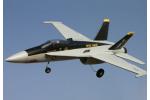 Радиоуправляемый самолет F18 V2 полный комплект с б/к двигателем (21185)