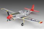 Радиоуправляемый самолет Mini P-51B полный комплект с б/к двигателем (21731)